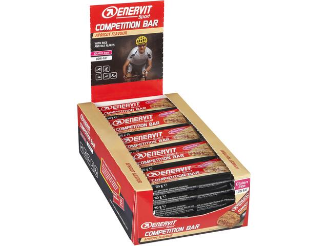Enervit Sport Competition Bar Box 25x30g, Apricot